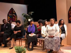 The Amen Corner congregation